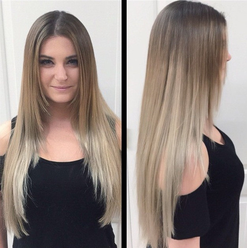 Balayage Straight Hair