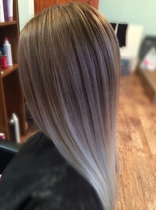 Sliver Straight Hair