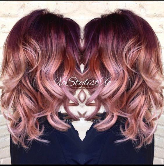 red hair color ideas for medium hair