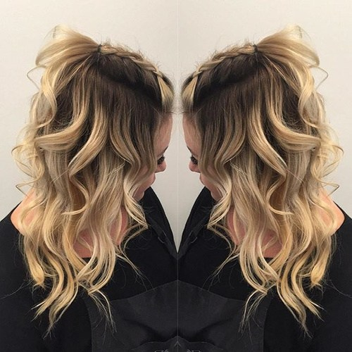 20 Romantic Hairstyles for Girls