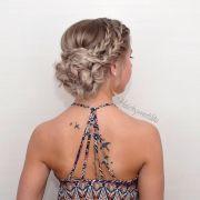 chic braided updos medium