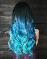 hottest ombre hairstyles 2018