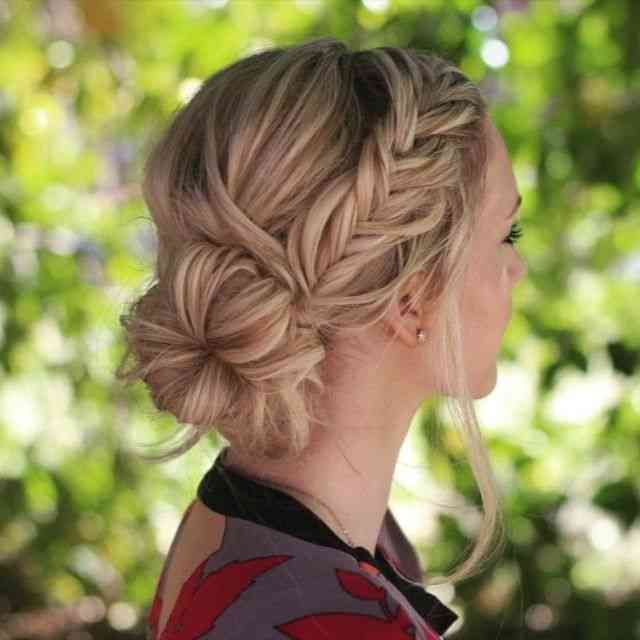 30 Romantic Messy Updos For Wedding 2019 Best Wedding