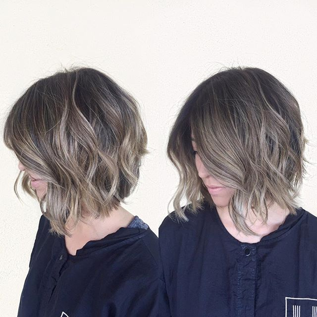 50 Hottest Balayage Hairstyles For Short Hair Balayage