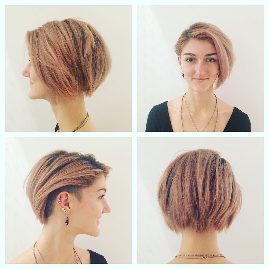 40 Hottest Short Hairstyles Short Haircuts 2018  Bobs Pixie Cool Colors  Hairstyles Weekly