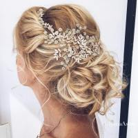 35 Romantic Wedding Updos for Medium Hair - Wedding ...