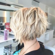 choppy bob hairstyles 2019