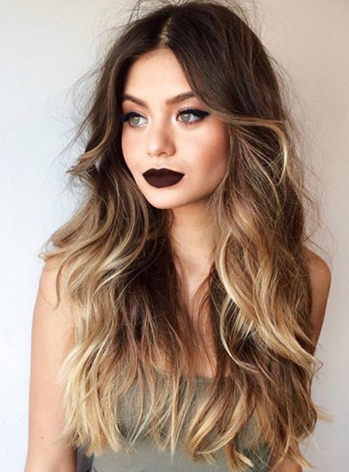 Image Result For Ombre Long Hair Color