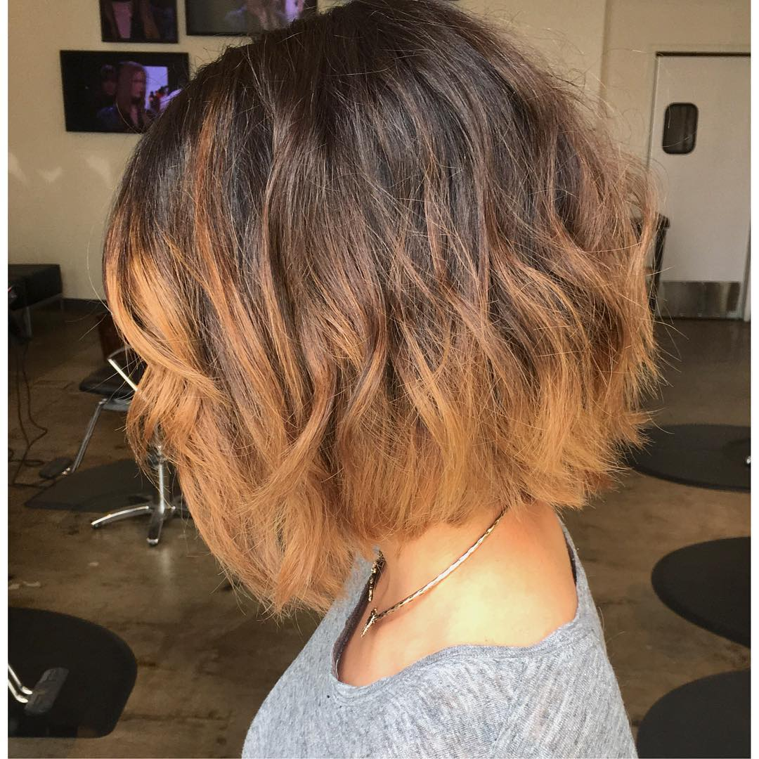 40 Most Flattering Bob Hairstyles for Round Faces 2018
