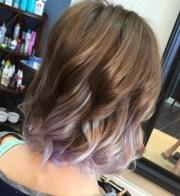 ravishing lavender ombre hair
