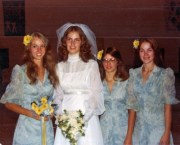 retro 70s wedding