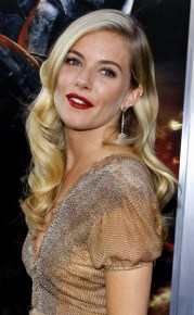 sienna miller with 1940's glamour