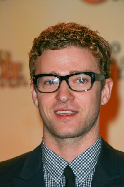 Justin Timberlake Hair and Glasses