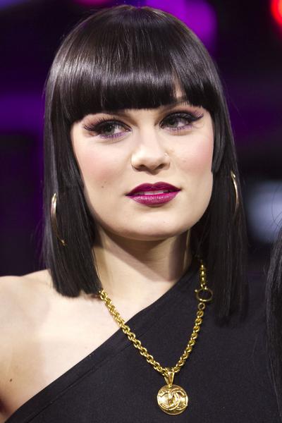 Jessie J Asymmetrical Straight Bob