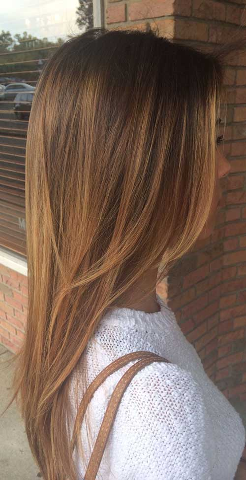 40 Best Light Brown Hair Color Hairstyle Woman