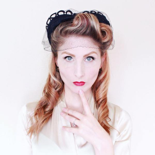 50s Pin Up Hairstyle