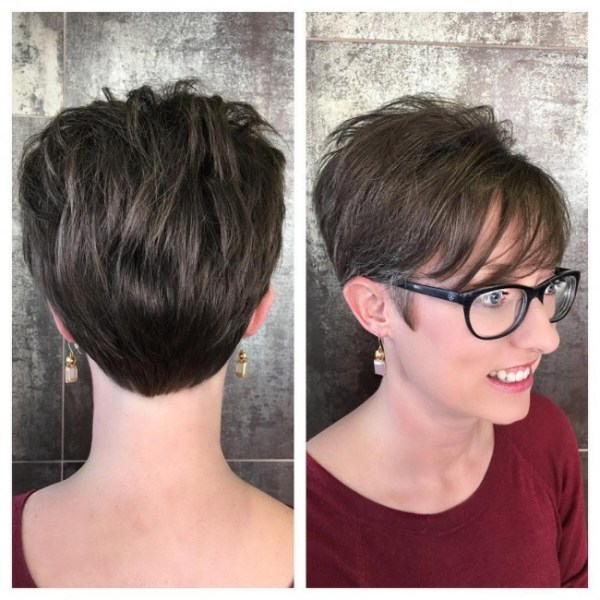 30 Long Pixie Hairstyles For Thin Fine Hair Hairstyles Ideas