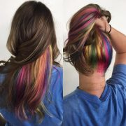 radiant rainbow hair ideas