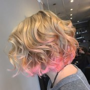 sweetest pink ombre hair design