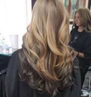 outstanding reverse ombre hair