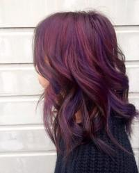 60 Burgundy Hair Color Ideas Maroon Deep Purple Plum