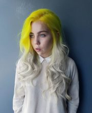 stunning yellow hair color ideas