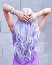 pretty pastel purple hair ideas