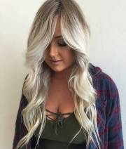 elegant white blonde hair ideas