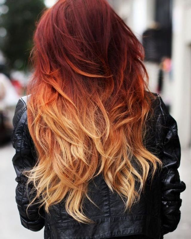 30 trendy two tone hair color ideas — best combinations!
