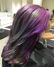 trendy two tone hair color ideas