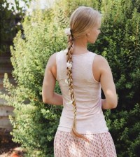 Rapunzel Braid With Flowers | the intricacies of rapunzel ...