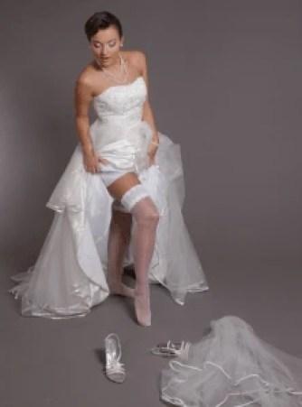 Készülődő menyasszony