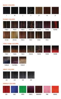 Marley Hair Color Chart | www.pixshark.com - Images ...