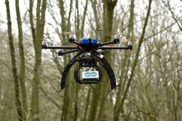 Specsavers Emergency Drone Delivery