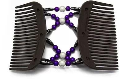 Butterfly hårspænder udfoldet