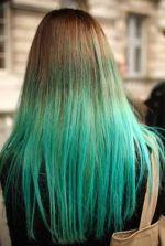 HairWebde  Haare frben Dip dye hair  Beispiele