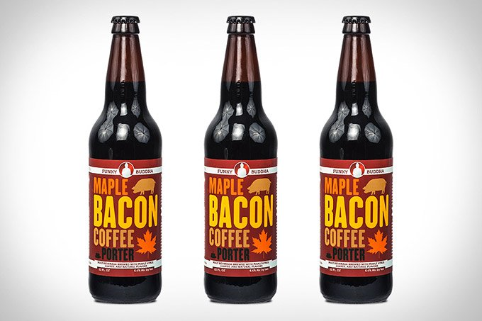 Maple Bacon Coffee Beer - Maple Bacon Coffee Porter - Pork Scratching beer, of a kind!