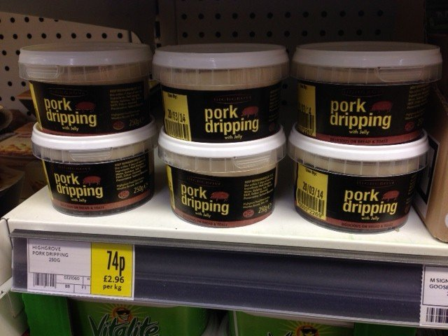 pork dripping e1392818695997 - Delicious on Bread and Butter!