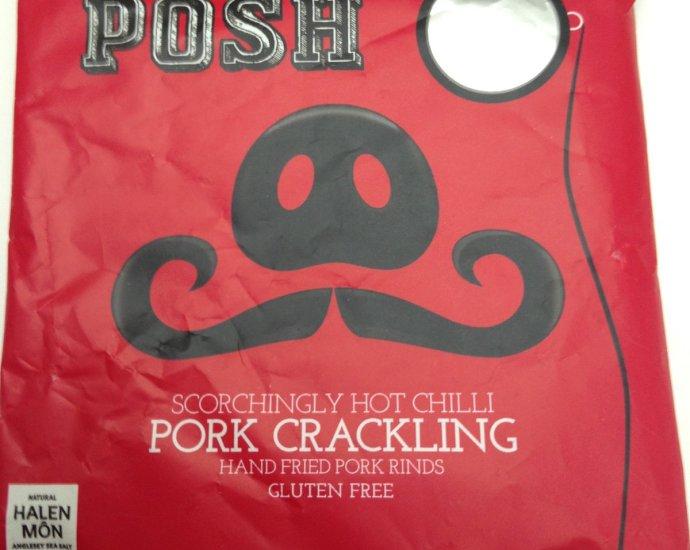hot chilli posh scratchings - Posh Chilli Scratchings