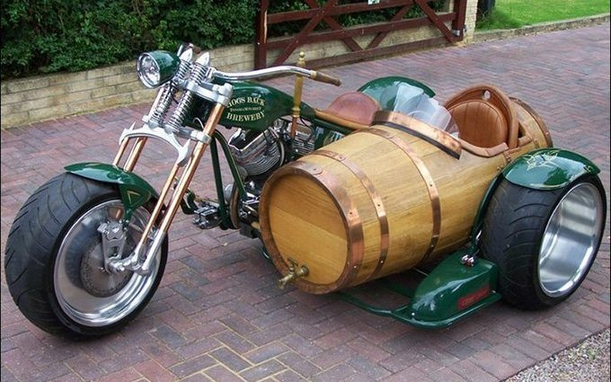 wpid beer barrel motorcycle sidecar 1 - Beer Barrel Motorcycle Sidecar