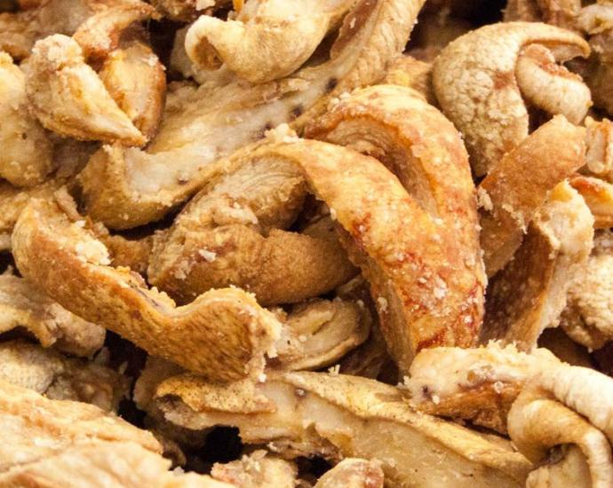 pork scratchings british snack1 1 - This Pig Farmer Is on a Mission to Rebrand Pork Scratchings