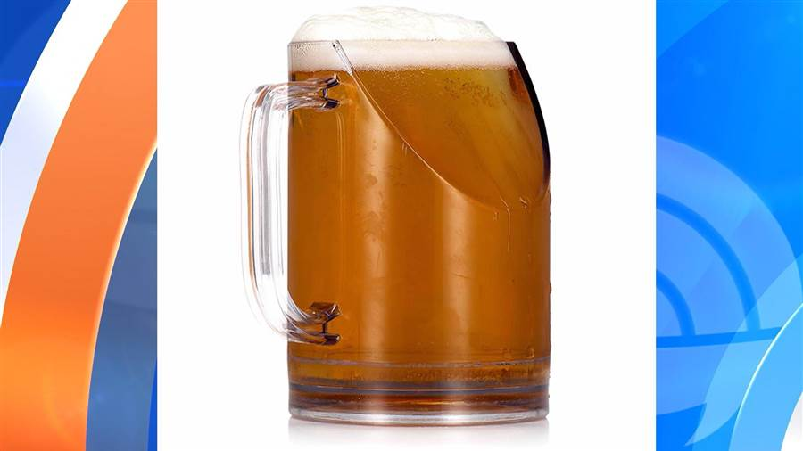 tdy trend mug 160910.today inline vid featured desktop 1 - Weird new beer mug solves a problem we didn't know we had
