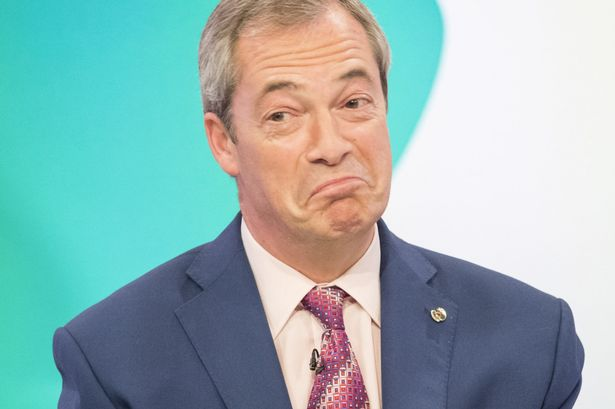 Nigel Farage 1 - Nigel Farage votes 'pork scratching over biscuits any day'