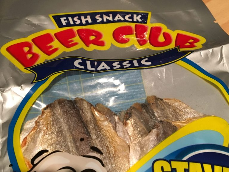 Stavrida Beer Club Fish Snack