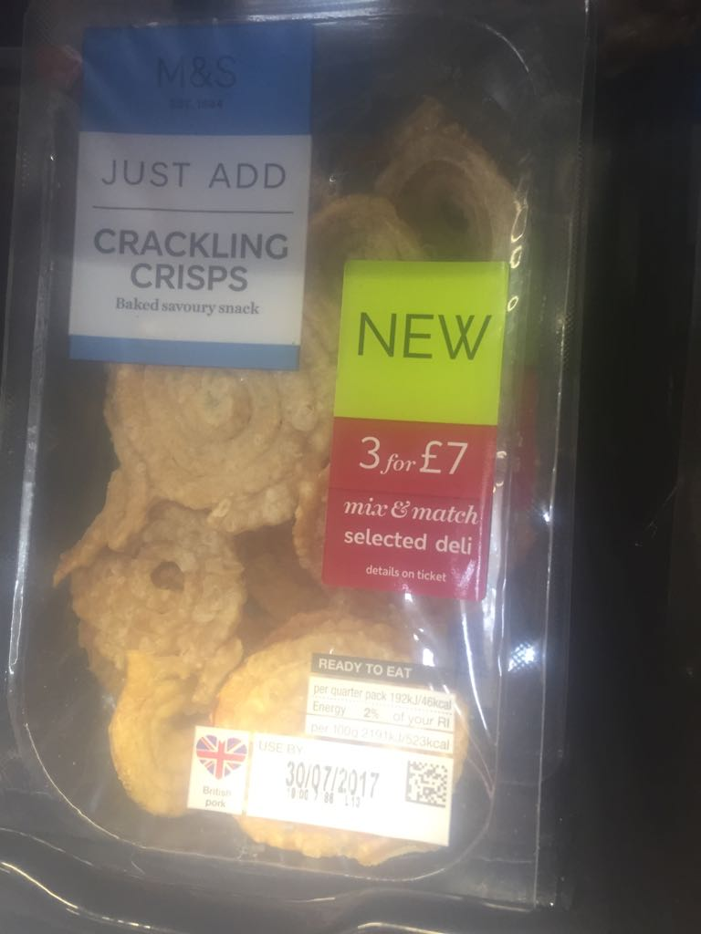 Marks & Spencer Crackling Crisps