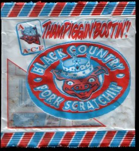 Ace Scratchings ThampigginBostin Pork Scratchings Review - Pork Scratching Bags