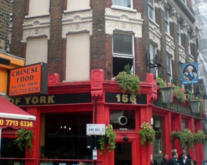 Duke of York Clerkenwell London Pub Review - Duke of York, Clerkenwell, London - Pub Review
