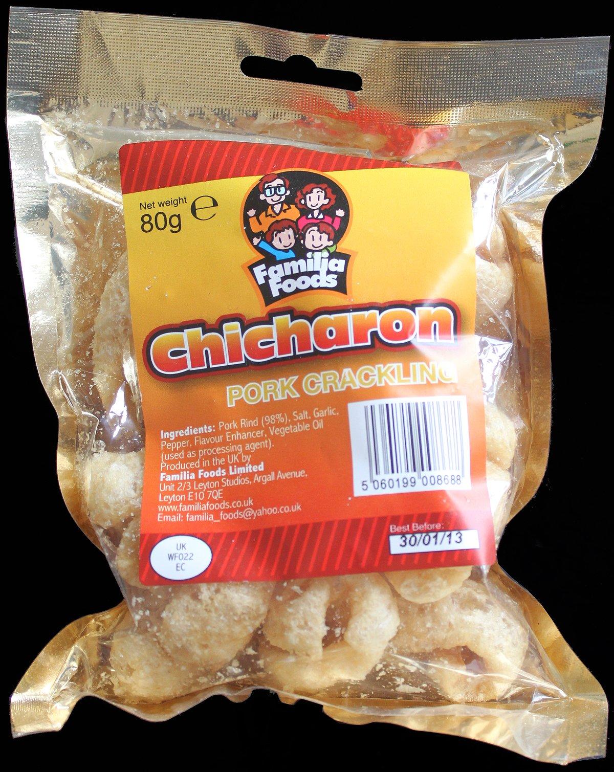Familia Foods Chicarones Pork Crackling Review - Familia Foods, Chicarones Pork Crackling Review