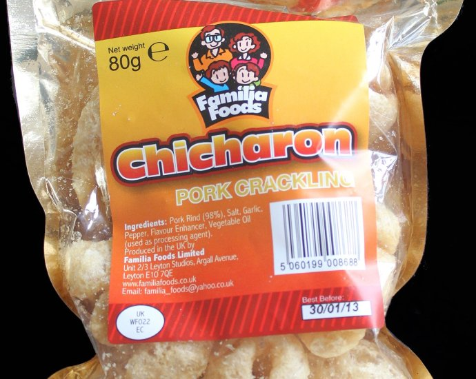 Familia Foods Chicarones Pork Crackling Review - Familia Foods, Chicarones Pork Crackling Review