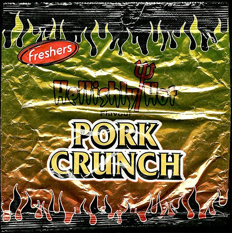 Freshers Hellishly Hot Pork Crunch Review - Freshers, Hellishly Hot Pork Crunch Review